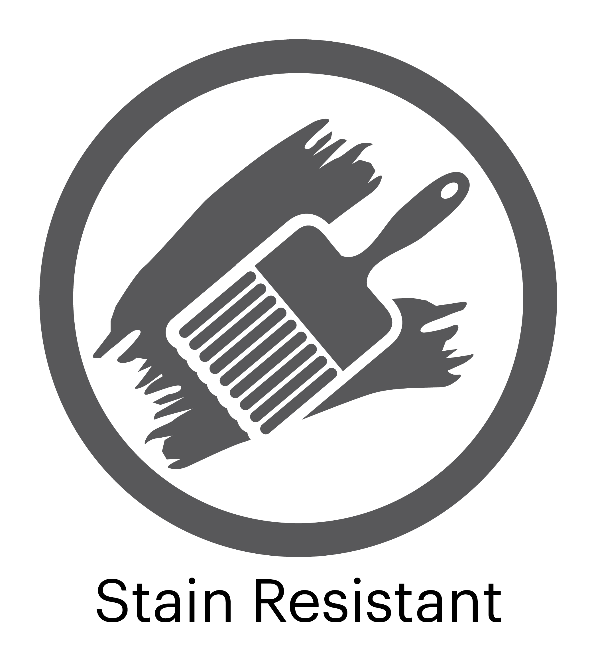 Stain Resistant Surface Logo