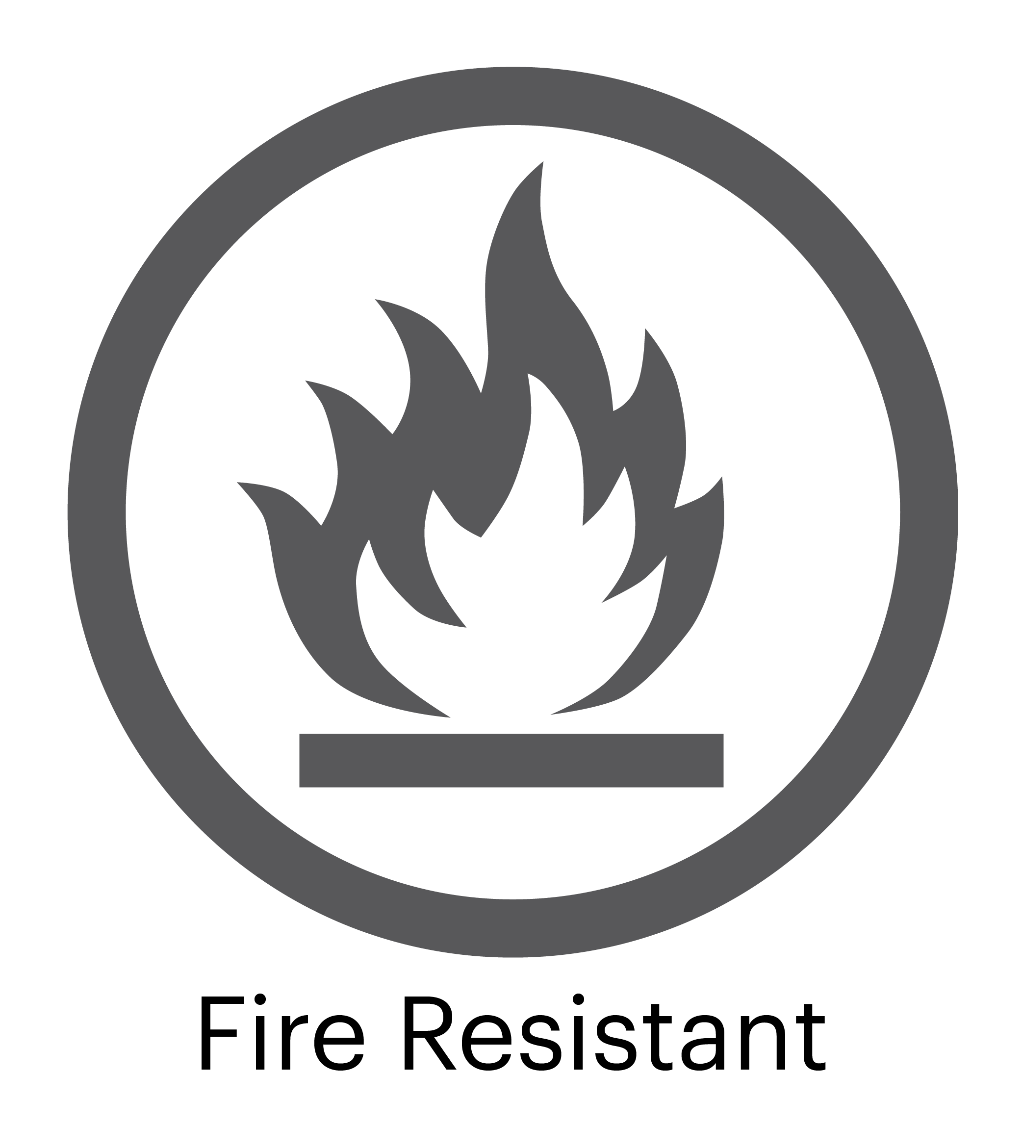 Fire Resistant Surface Logo
