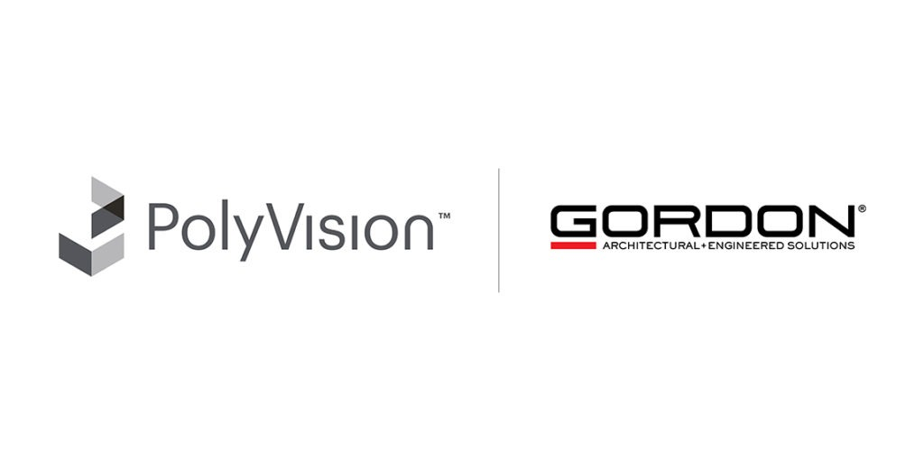 PolyVision and Gordon Inc. logos